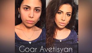 50 niewiarygodnych przemian według Goar Avetisyan