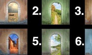 Test - wybierz bramę, przez którą chciałabyś przejść i sprawdź, co jest dla ciebie ważne!