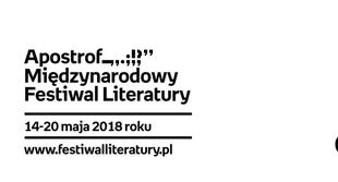 Apostrof. Międzynarodowy Festiwal Literatury ogłasza pełny program