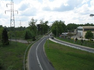 wiadukt na odcinku drogi krajowej nr 48