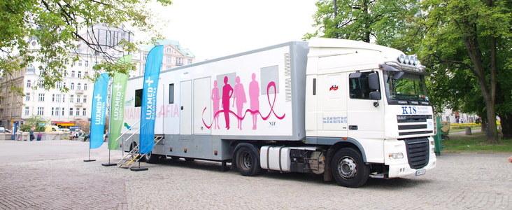 Bezpłatne badania mammograficzne dla kobiet w wieku 50-69 lat w kwietniu 2018