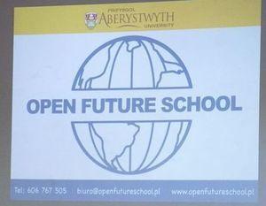 Goście z Uniwersytetu Aberystwyth w LO