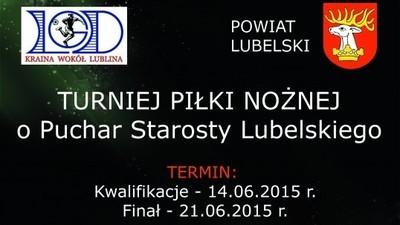 Drużyny z gminy Jabłonna w finale Turnieju Piłki Nożnej o Puchar Starosty Powiatu Lubelskiego