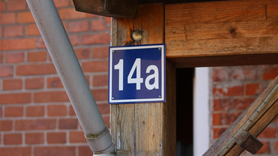 Oznakowanie budynków i posesji