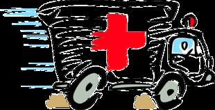 Pacjent znokautowany