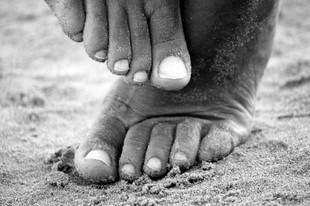 Domowy scrub na stopy