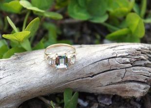 Drogocenny pierścionek
