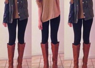 Jak nosić legginsy?