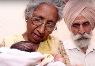 Najstarsi rodzice na świecie