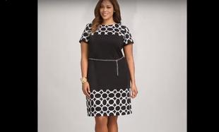 Eleganckie sukienki dla kobiet plus size