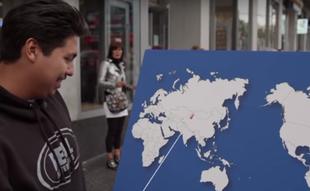 Pokaż jakiś kraj na mapie - Amerykanie i geografia