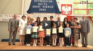 VIDEO - Stypendia Wójta Gminy Niemce 2014