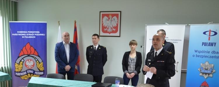 Eliminacje powiatowe XL Ogólnopolskiego Turnieju Wiedzy Pożarniczej