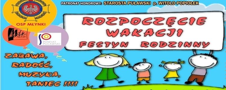 Festyn Rodzinny z okazji Rozpoczęcia Wakacji