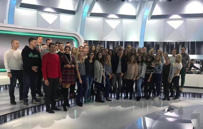 Uczniowie ZSZ nr 2 w Dęblinie po raz kolejny w studiu telewizyjnym