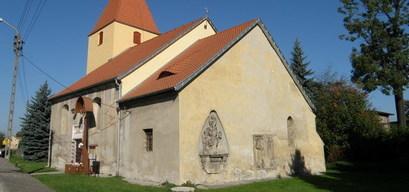 Kościół w Łażanach pw. Bożego Ciała