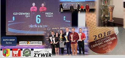 Grzegorz Reda i Marcin Czyżewski: oficjalny tytuł drugiego wicemistrza