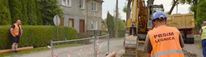 Uporządkowanie gospodarki ściekowej na terenie Aglomeracji Żarów poprzez budowę kanalizacji sanitarnej w miejscowości Łażany