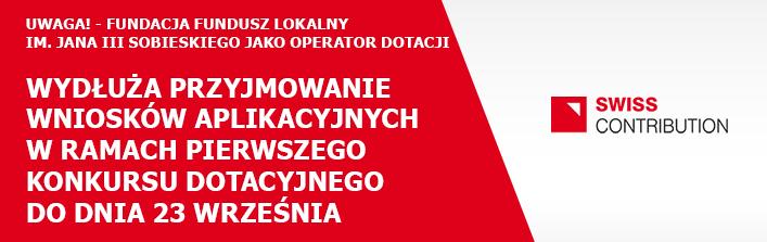 Uwaga! - Fundacja Fundusz Lokalny im. Jana III Sobieskiego jako Operator Dotacji