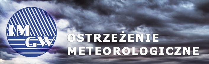 PROGNOZA NIEBEZPIECZNYCH ZJAWISK METEOROLOGICZNYCH z dn. 24.11.2013