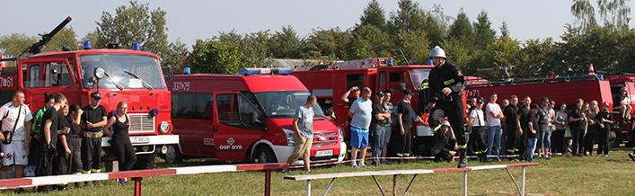 Zawody Sportowo - Pożarnicze w Krasieninie