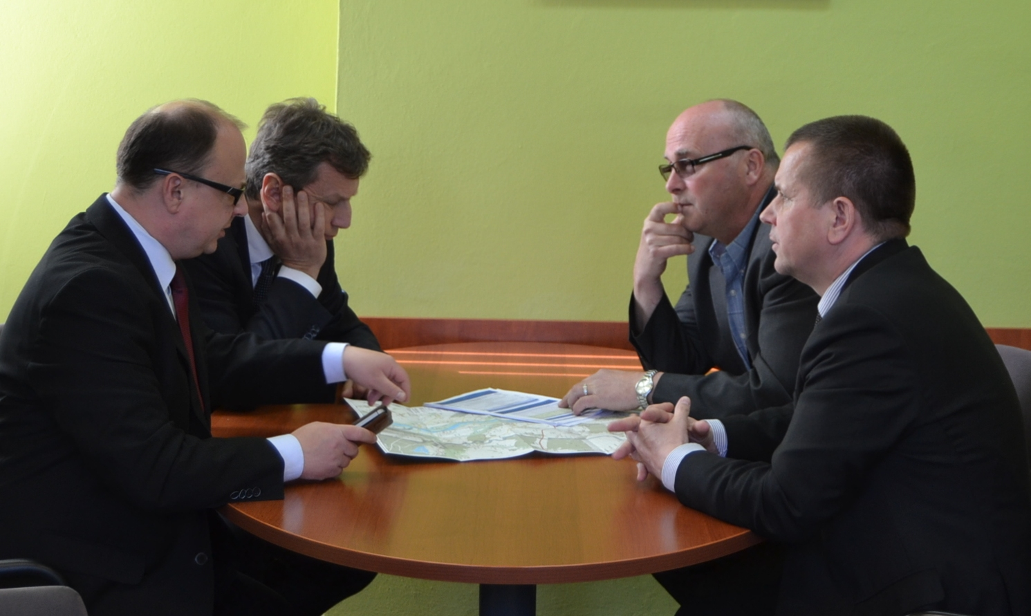 Spotkanie w sprawie modernizacji wałów