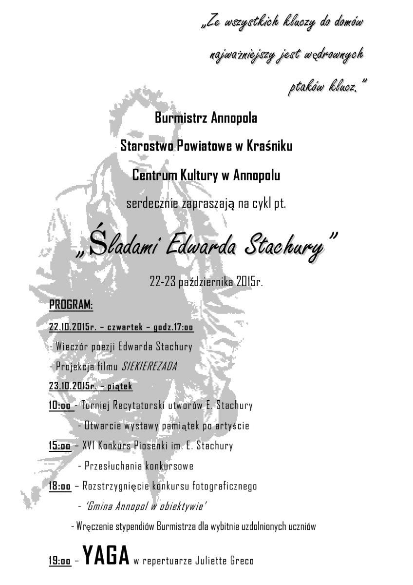 Śladami Edwarda Stachury 2015