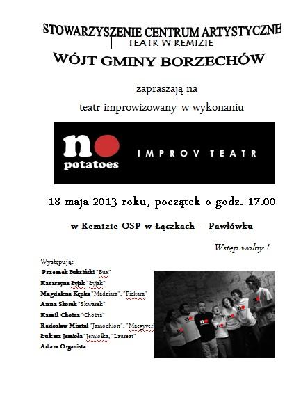 Plakat teatr 2013