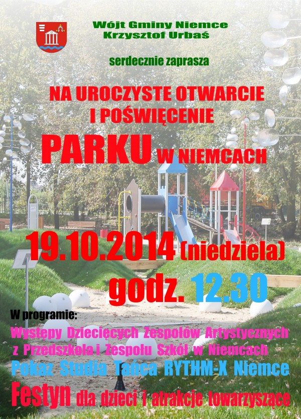 Zaproszenie do parku