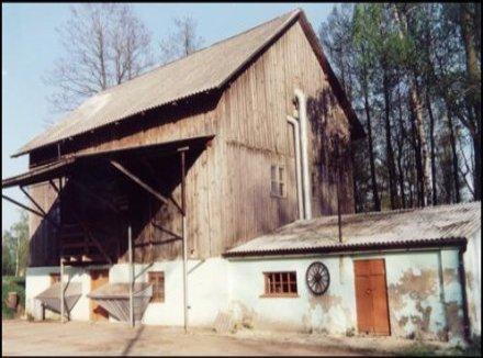 Współczesny wygląd młyna w Woli Trzydnickiej.