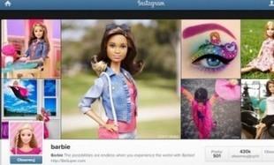 Barbie też jest na Instagramie!