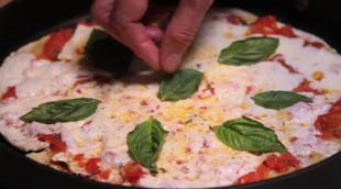 Wegetariańska pizza bez piekarnika