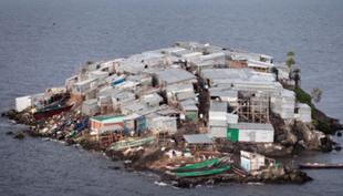 Migingo - wyspa, którą omijaj z daleka
