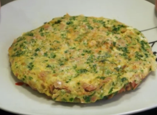 Omlet z tuńczykiem na szybko!