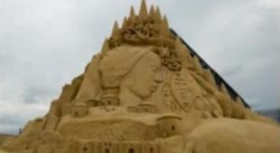 Dzieła sztuki z piasku