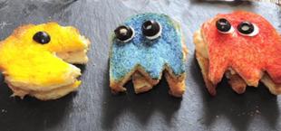 Pacman - kanapki dla niejadka
