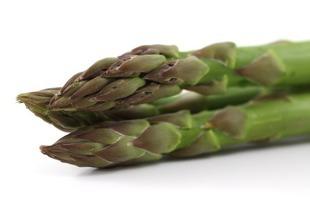 Smażone zielone szparagi