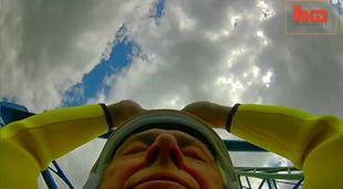 73 - latek pobił rekord świata w skoku na bungee!