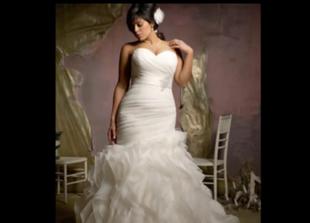 Najpiękniejsze suknie ślubne dla kobiet XL