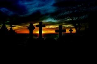 Duch na cmentarzu, czyli o męskiej odwadze