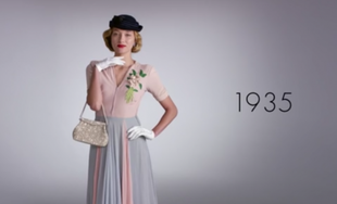 100 lat mody w 2 minuty