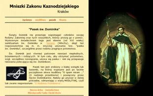 Zamiast in vitro - modlitwa i pasek św. Dominika