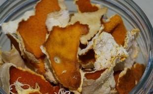 Domowy ekologiczny odplamiacz ze skórek pomarańczy
