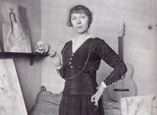 Marie Laurencin - smutna baletniczka wielkiego poety