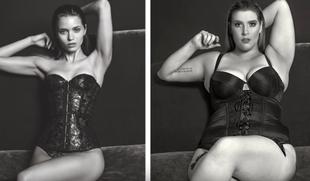 Kobiety plus size w znanych reklamach