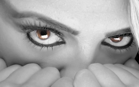 Kobieta w stresie