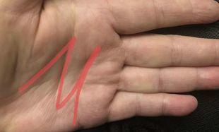 Czy masz literę M na swojej dłoni?