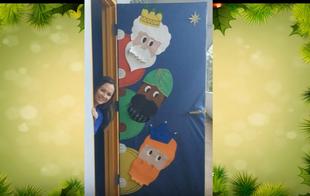 70 pomysłów na świąteczne drzwi
