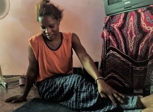 Dziennik z podróży po Afryce - szamanka Amina