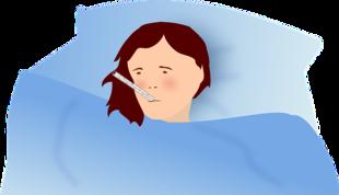 Jesteś chora? - zostań w domu! Ale nie leż cały dzień w łóżku!